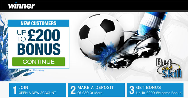 Winner Sports Betting Bonus