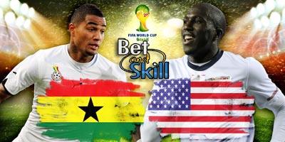 Ghana vs usa betting odds