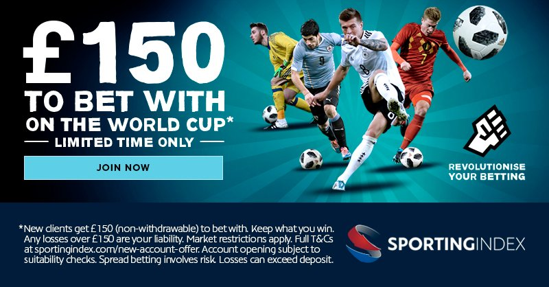 Sporting Index spread betting with no deposit
