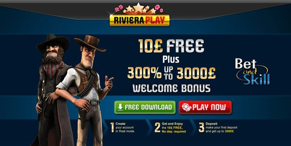 Riviera Play Casino no deposit bonus