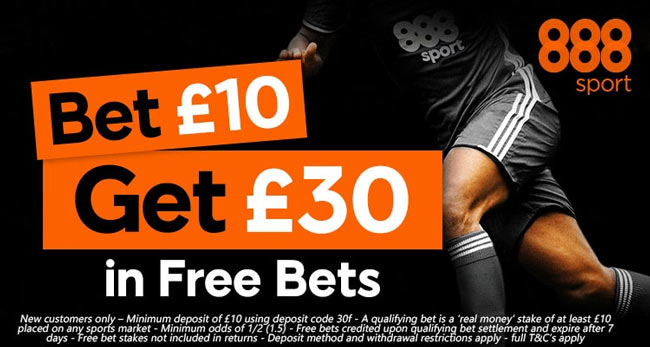 888sport Betting Bonus