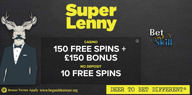 SuperLenny 10 free spins