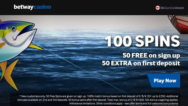 Betway Casino 50 no deposit free spins on Reel Spinner slot machine