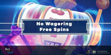 No Wagering Free Spins and Casino Bonuses