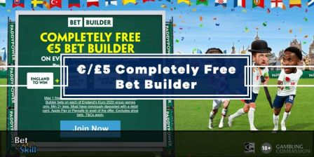 Euro 2020: Paddy Power £5 Completely Free Bet Builder On Every England Group Game
